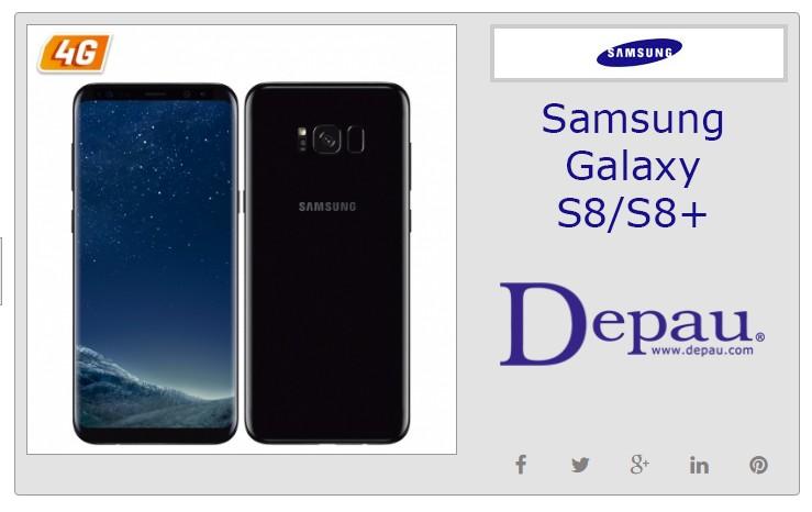 Smartphone Samsung Galaxy S8 y S8+ al mejor precio