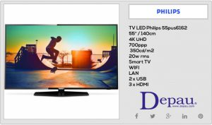 Television Philips 4K