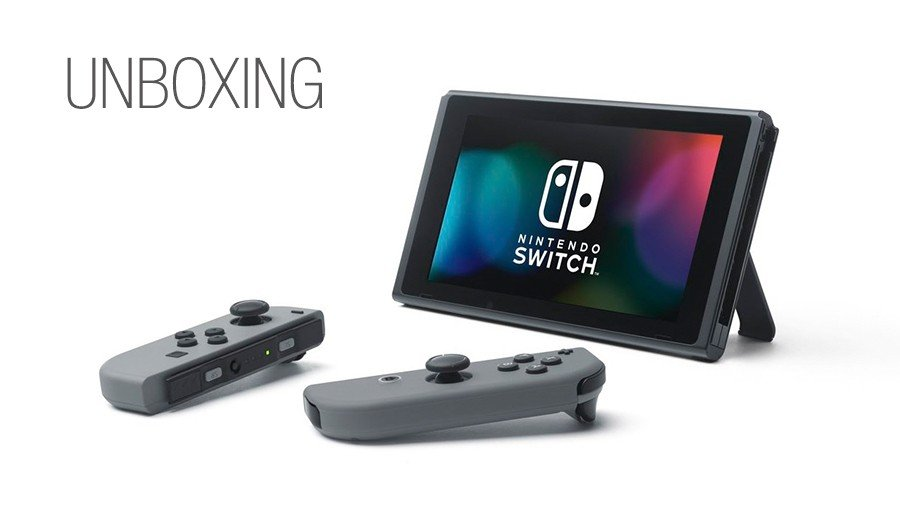 Unboxing de Nintendo Switch