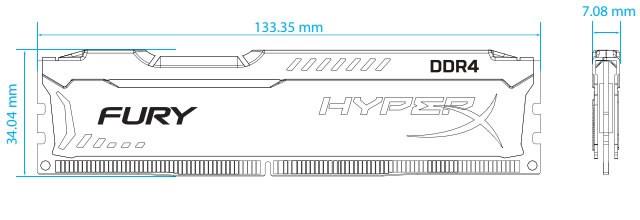 Dimensiones HyperX