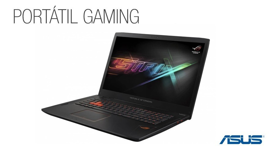 Portatil gaming asus