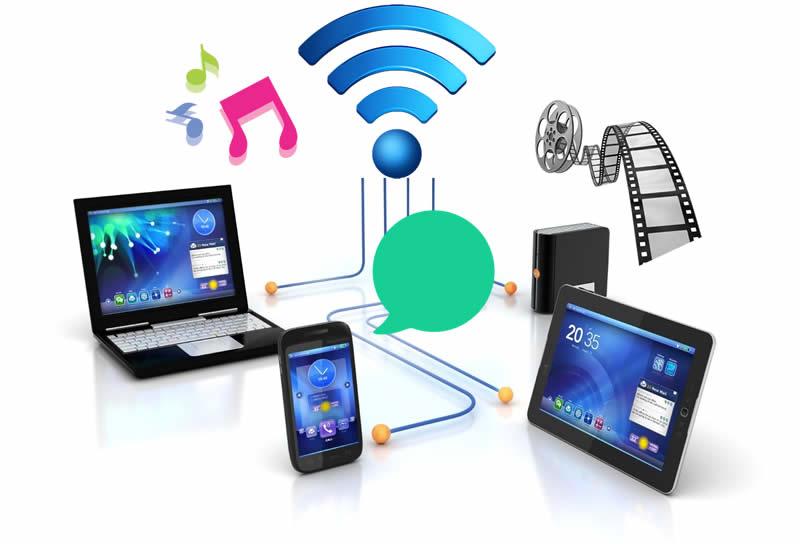 uso Wi-Fi