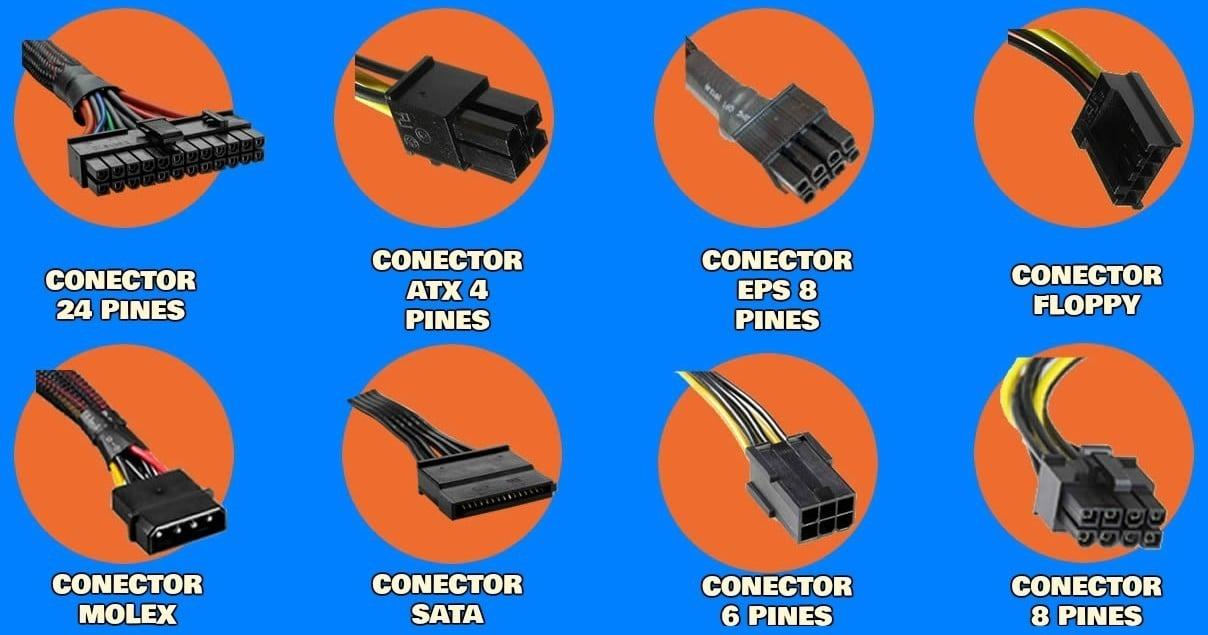 Conectores fuente