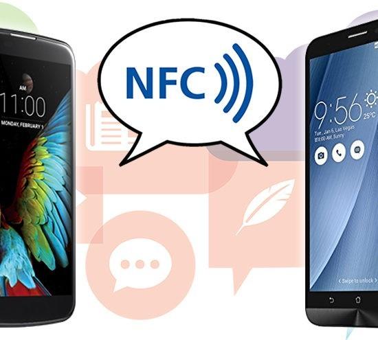 Smartphones NFC