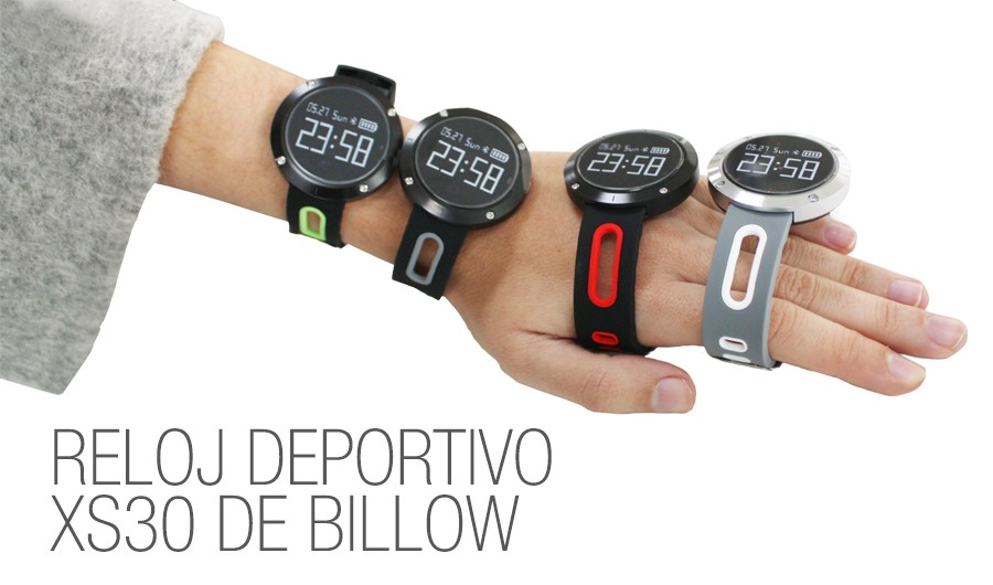 reloj deportivo billow
