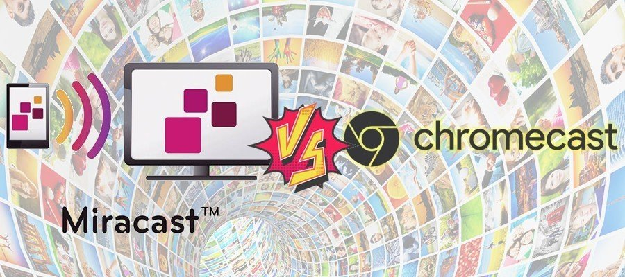 Comparativa Miracast Chromecast