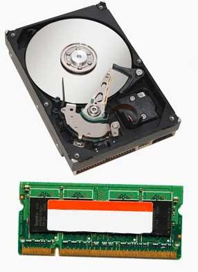 Memoria RAM y Disco Duro al comprar un portatil