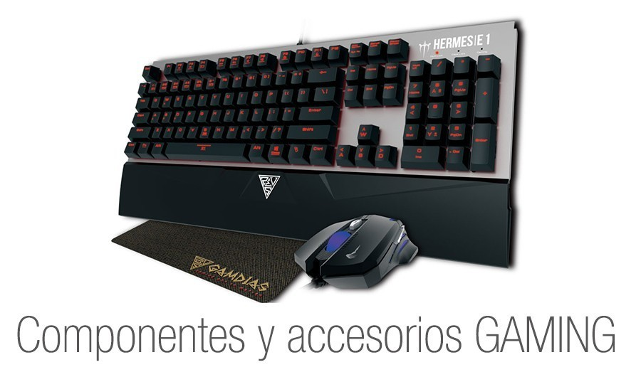 componentes gaming