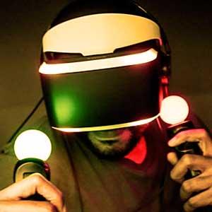 Jugando con realidad virtual