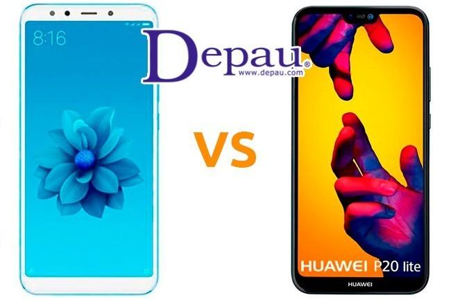 Comparativa Huawei P20 Lite vs Xiaomi Mi A2