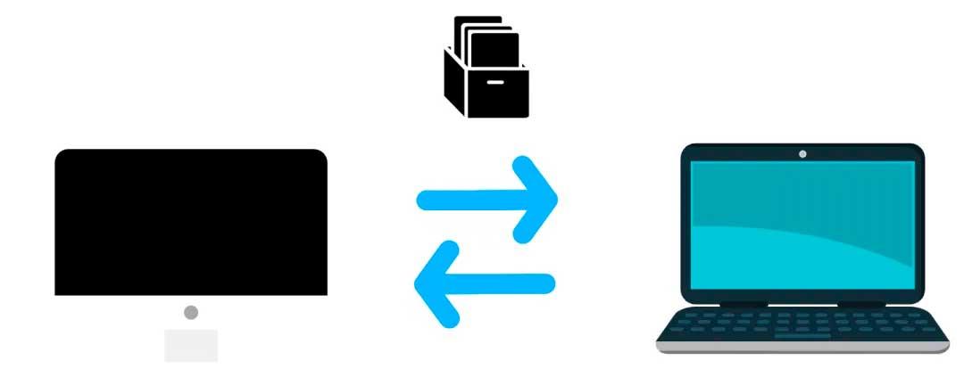 Transferir Archivos de PC a PC