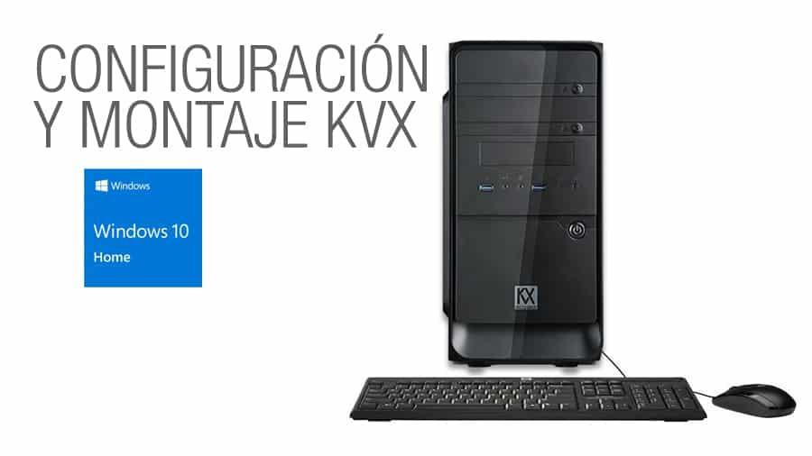 Configuración y montaje KVX