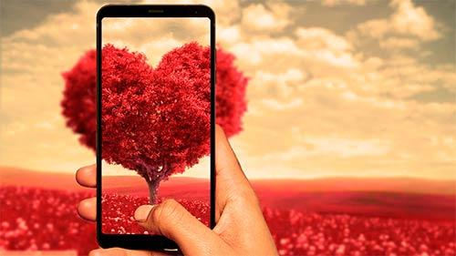 Smartphone Día de los Enamorados